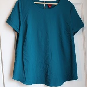 Merona Short Sleeved Top, Sz XL.